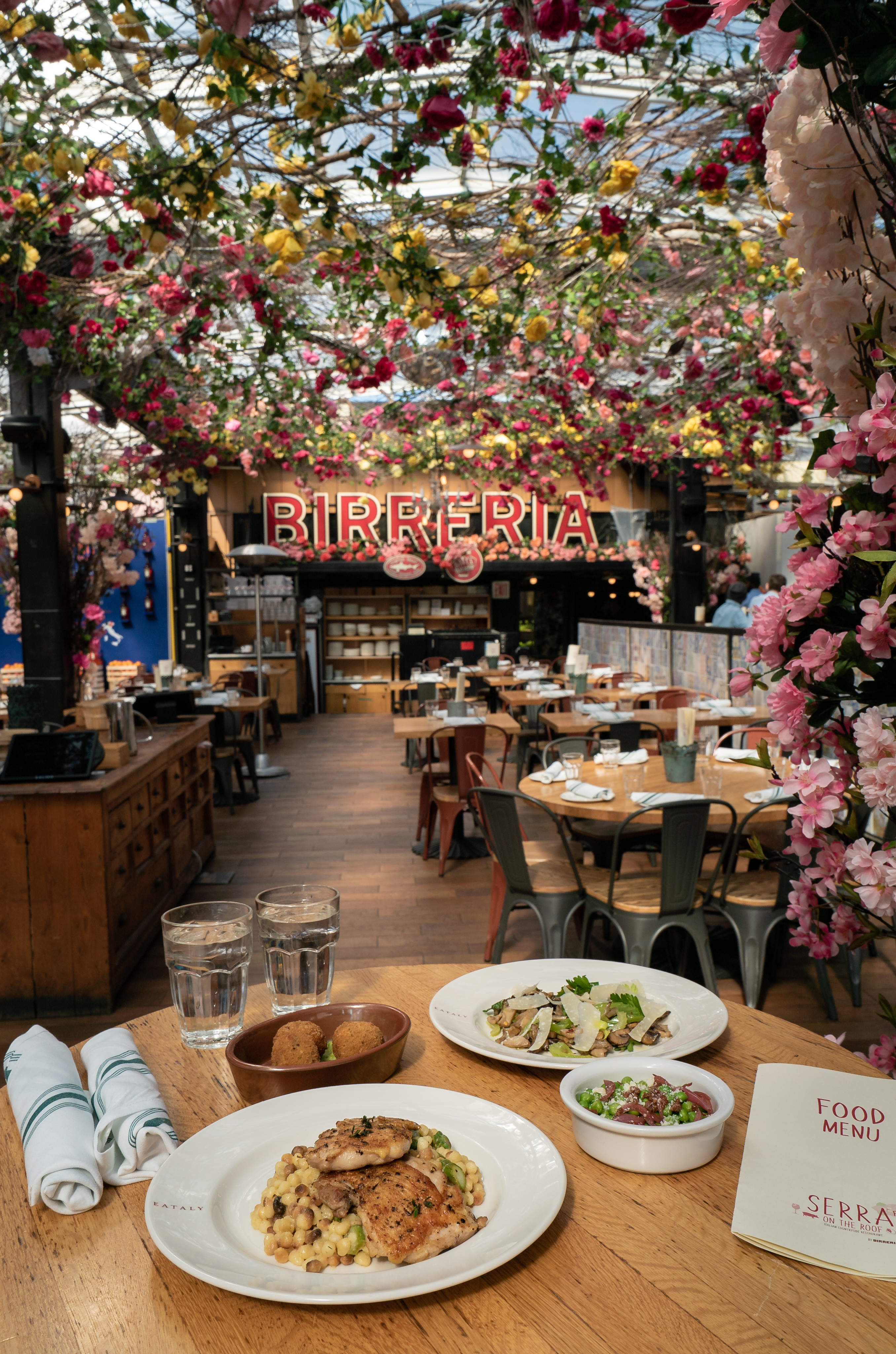 Eataly's Spring Rooftop Is In Full Bloom