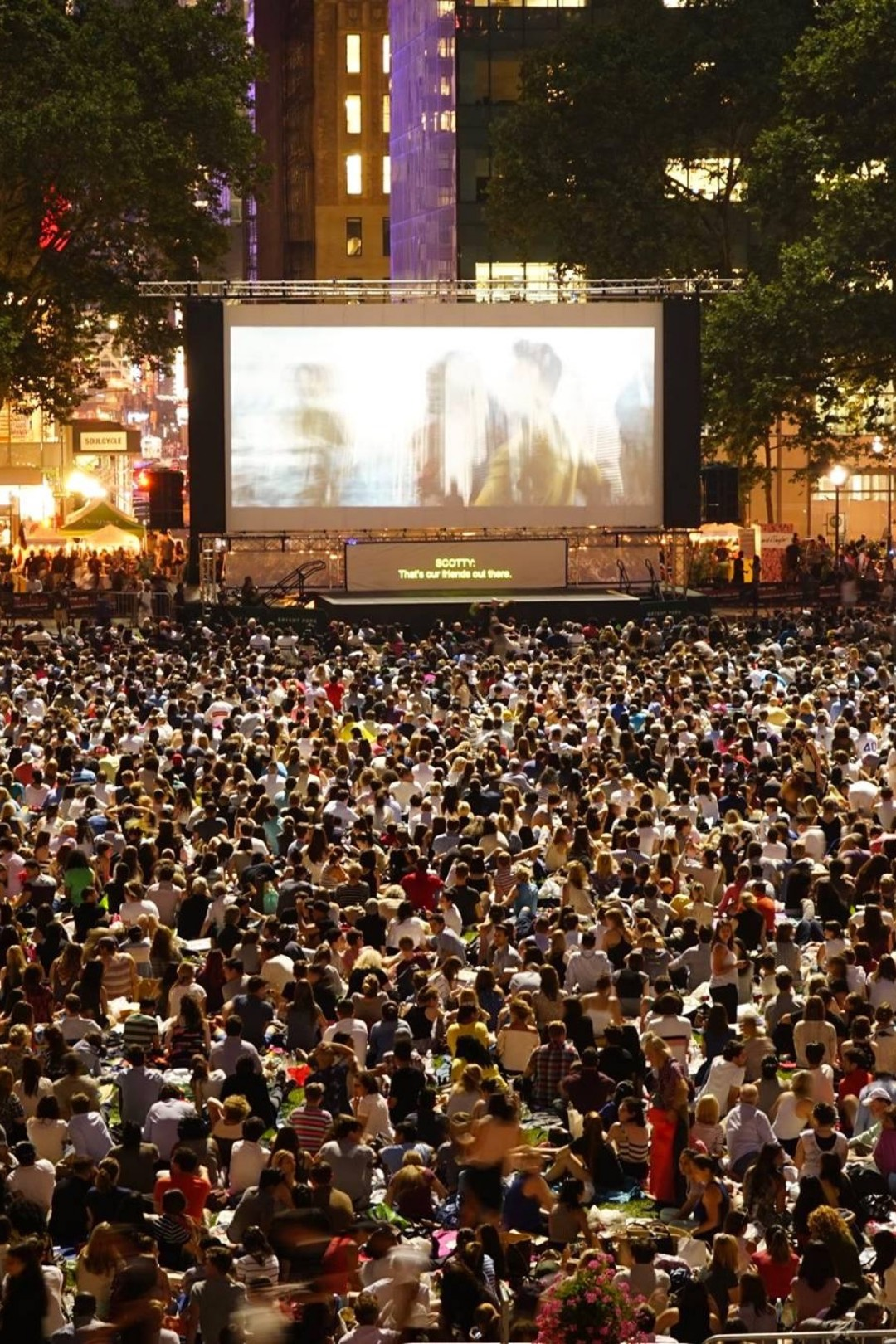 Bryant Park Announces Summer Movie Nights