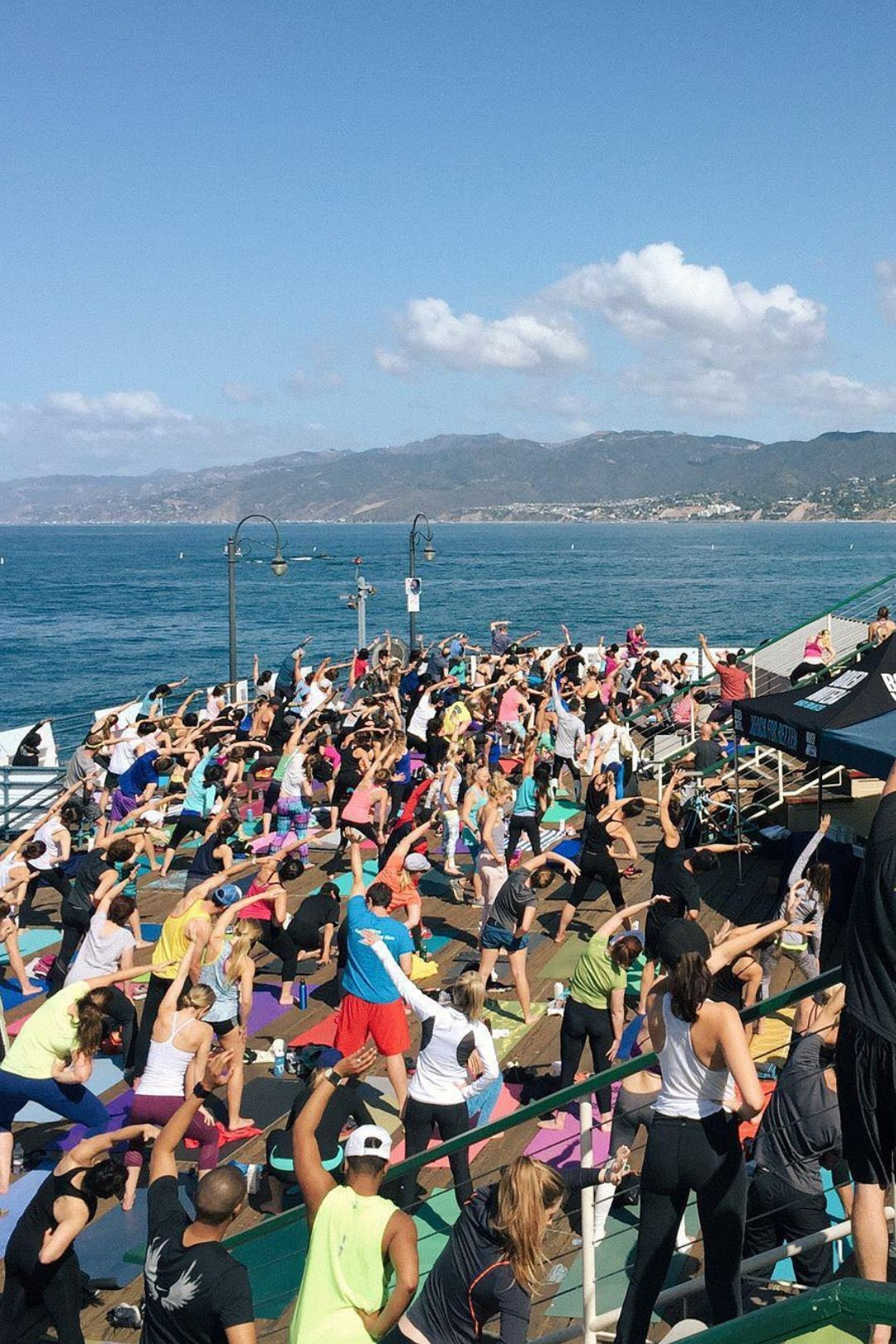 Free ROGA (Run + Yoga) Returns To Santa Monica Pier
