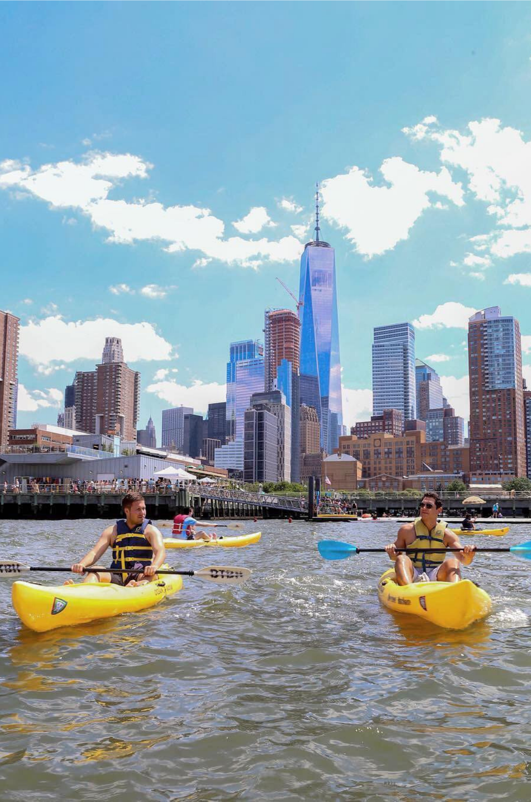 Free Kayaking At Pier 26 Is Now Running Through September